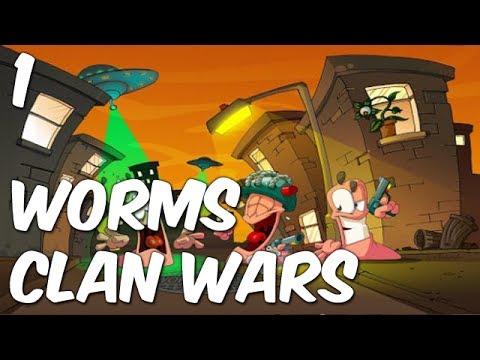 Worms: Clan Wars | Match 1 | THE MINE! THE MINE! |