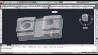 AutoCAD 3D video tutorial - bridle
