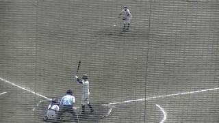 2018 春 高校野球 福岡大会 三潴 林投手