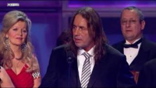 Bret Hart Accepts Stu Hart's HOF Award (Download)