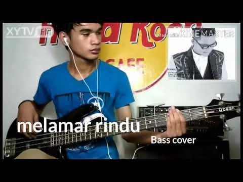 Tajul melamar rindu bass cover by rashid