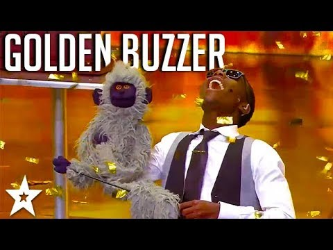 AMAZING Ventriloquist gets GOLDEN BUZZER on SA's Got Talent