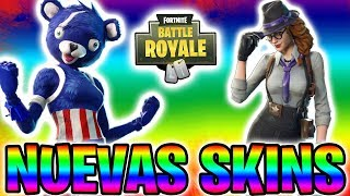 🔴 OMG! **3 NEW SKINS** OF DETECTIVES AND *NEW WEAPON* +630 VICTORIAS! - FORTNITE Battle Royale