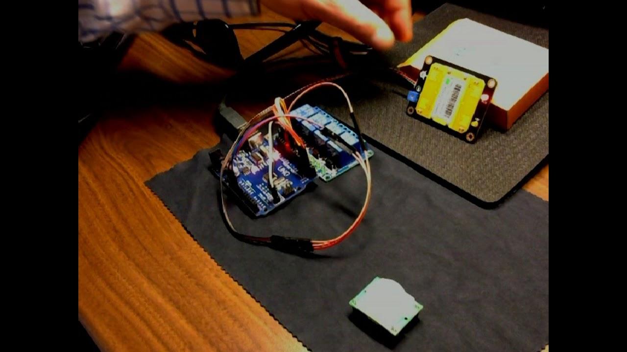 Arduino Using Microwave Motion Sensor
