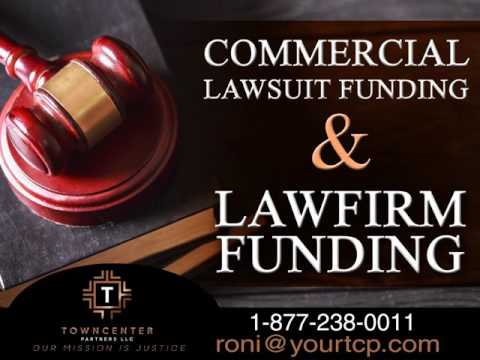 Litigation Finance, Lawsuit Funding, Law Firm Funding, TownCenter Partners