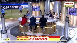 Ronaldo quitte le Ral Madrid - Foot - L