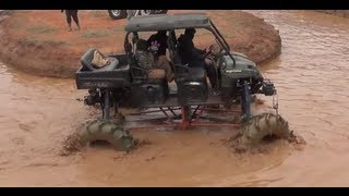 World's Largest ATV!! Mud Nationals 2013 Nats MuddaCross Polaris Ranger