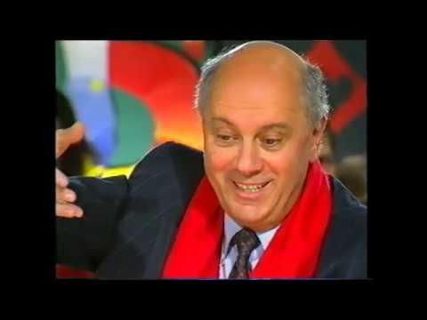 АРКАДИЙ ИНИН, АРКАДИЙ АРКАНОВ, БОРИС ГРАЧЕВСКИЙ В БЛЕФ-КЛУБЕ (улучшенное видео,1995)