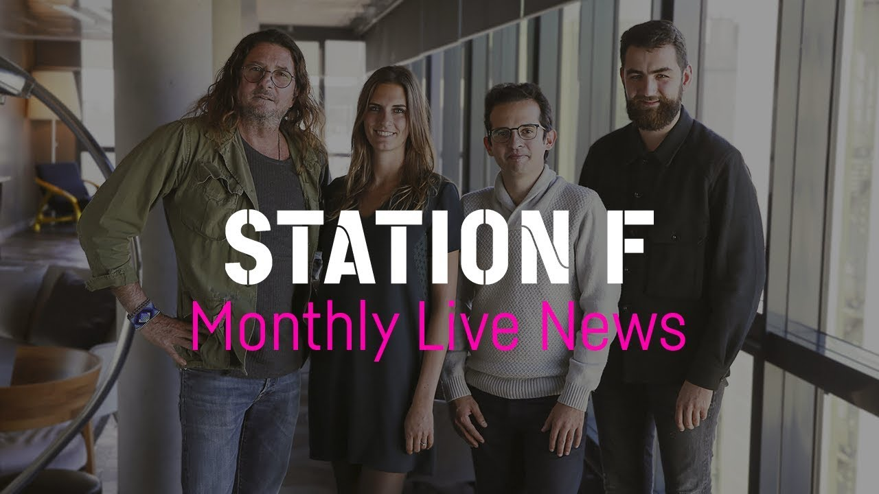 STATION F Monthly Live News #12 ft. recently acquired startup Daco.io