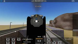 Roblox Rails Unlimited Driving the Prairie Limited