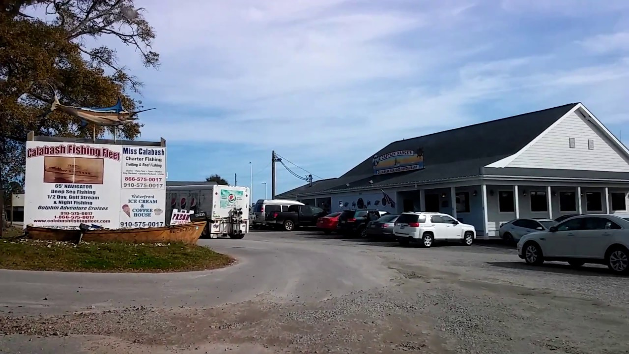 Tour Of The Seafood Restaurant S In Calabash North Carolina