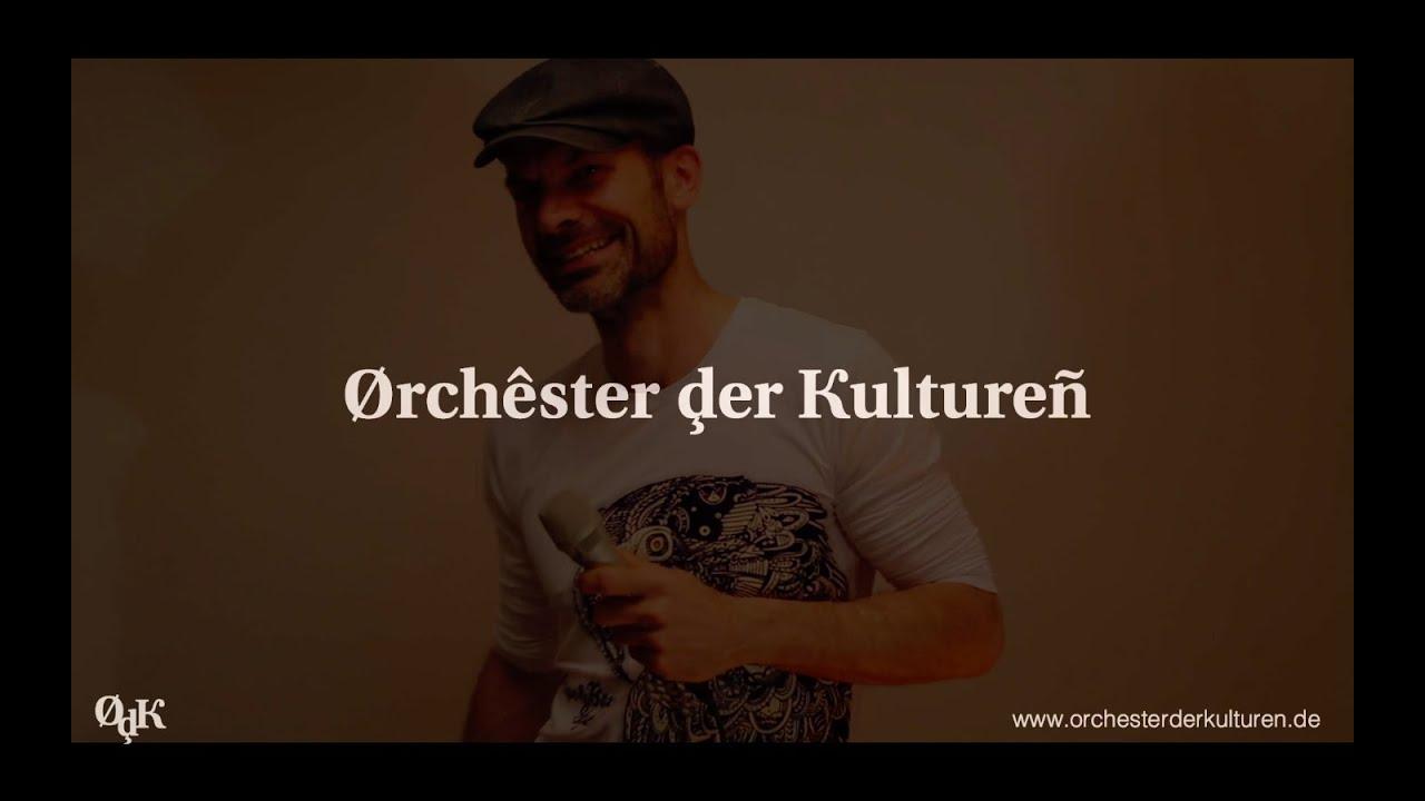 Orchester der Kulturen - Percussionist Alexander Ludwig