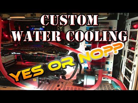 PC Custom Water Loop Cleaning!! Cleaning out my EK Water Block Nickel and Plexi