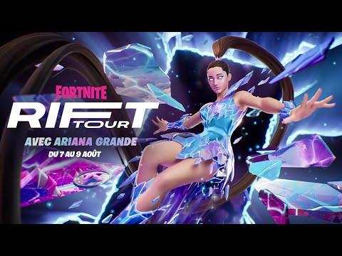 Bande-annonce du Rift Tour avec Ariana Grande
