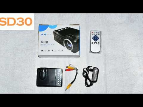 Cheapest SD30 Toy Mini LED Projector