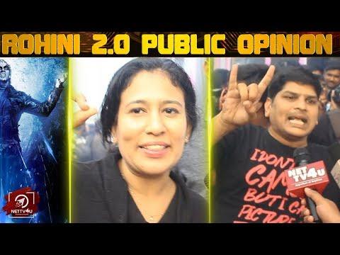 2.0 FDFS Reaction Rohini Cinemas   Rajinikanth   Akshay kumar   Shankar