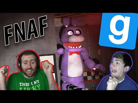 JP, MEET THE FNAF CREW!   GMod Horror Maps: Five Nights At Freddy's