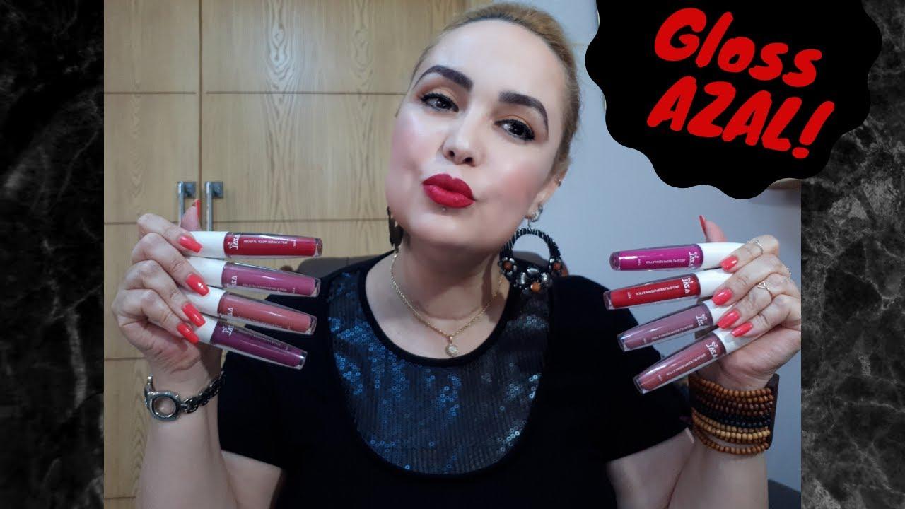Download Made in Tunisia #13: Swatchs #2 et Revue des Lip Gloss AZAL 💄#619 🇹🇳 ❤