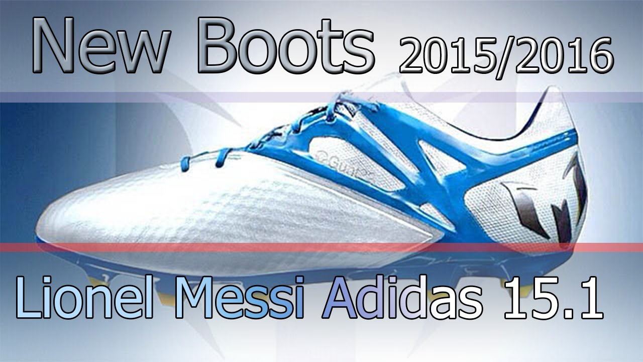 PES 2013 | New Boots 2015/2016 · Adidas Messi 15.1 · HD   YouTube
