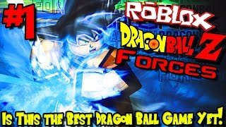 IS THIS THE BEST DRAGON BALL GAME YET?!? | Roblox: Dragon Ball Forces (Test Server) - Episode 1