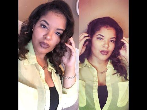 Talk-Thru Hair Tutorial : Glamorous Curls | Tiana Edmond