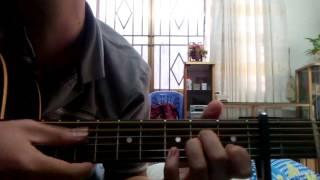 Hướng dẫn solo guitar Mùa xa nhau-Emily(simple)