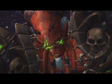 Kil'jaeden Defeat Cinematic