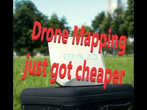 Drone Mapping just got cheaper with Emlid