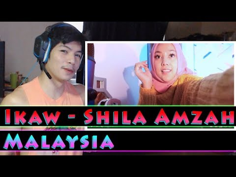 Shila Amzah - Ikaw cover - RandomPude Reaction