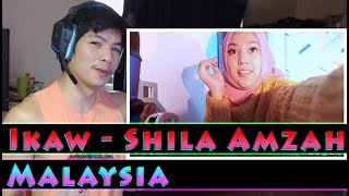 Shila Amzah - Ikaw (cover) - RandomPHDude Reaction