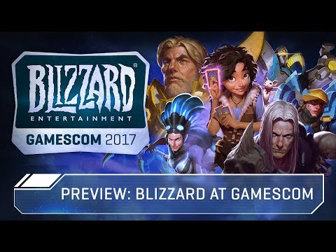 Preview: Blizzard at gamescom 2017