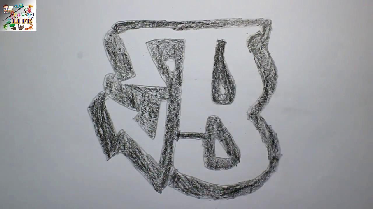 How To Draw B In Graffiti
