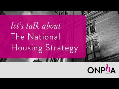 Let's Talk: The National Housing Strategy
