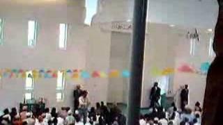 Hazur's Arrival at Baitul Islam Mosque Toronto 2008 11
