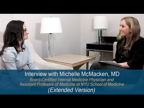 Interview with Michelle McMacken, MD (EXTENDED VERSION)