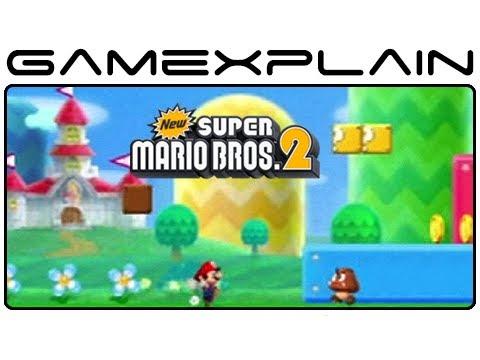 New Super Mario Bros  2 Gameplay - Level 1-1 (Nintendo 3DS)