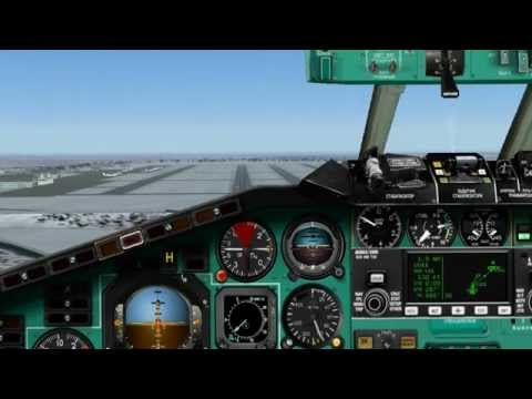 FS2004 Tu-154M Moscow Air Service: Coming Home