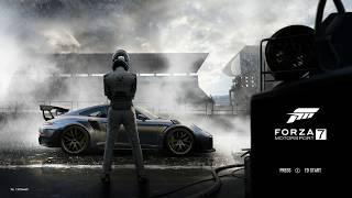 Forza Motorsport 7 Ambient rain sounds 15 minutes