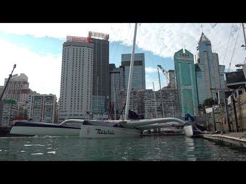Maserati Multi70 - Training in Hong Kong