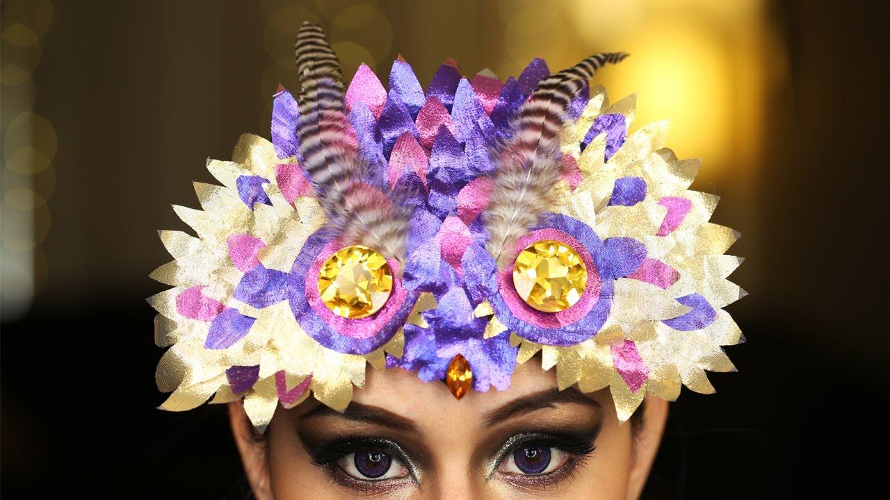 & Owl Mask Headdress ? DIY
