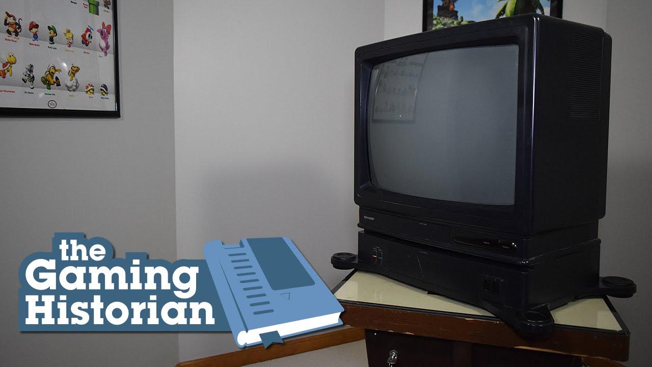 Sharp Nintendo Television 19Sv111 Gaming Historian