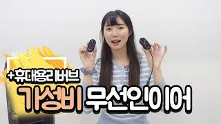 가성비 무선 인이어/무선마이크, 휴대용 리버브 Revi…