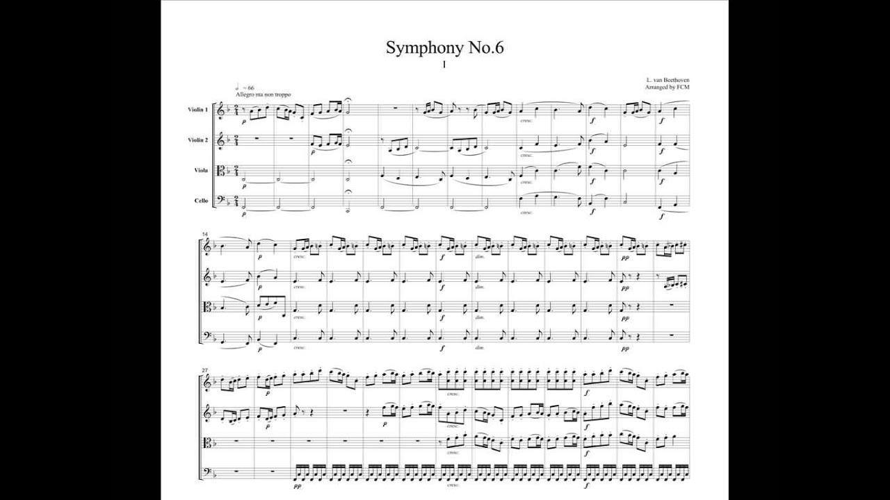 6 Symphonie Beethoven