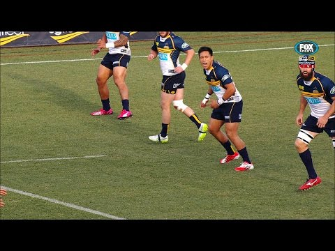 Rugby HQ - Christian Lealiifano mic'd up
