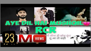 RCR rap version Aye dil hai mushqil Mp3 Song Download