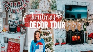 CHRISTMAS HOUSE TOUR 2018! | HOW I DECORATED MY HOUSE FOR CHRISTMAS | FARMHOUSE CHRISTMAS DECOR