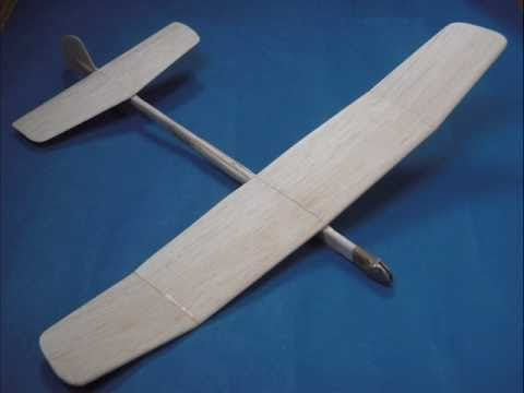 Building A Flicka Balsa Glider Pt 1 Youtube