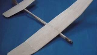 Building A - 'flicka' Balsa Glider - Pt.1