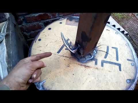 Изготовление крышки тандыра и сопутствующих принадлежностей.