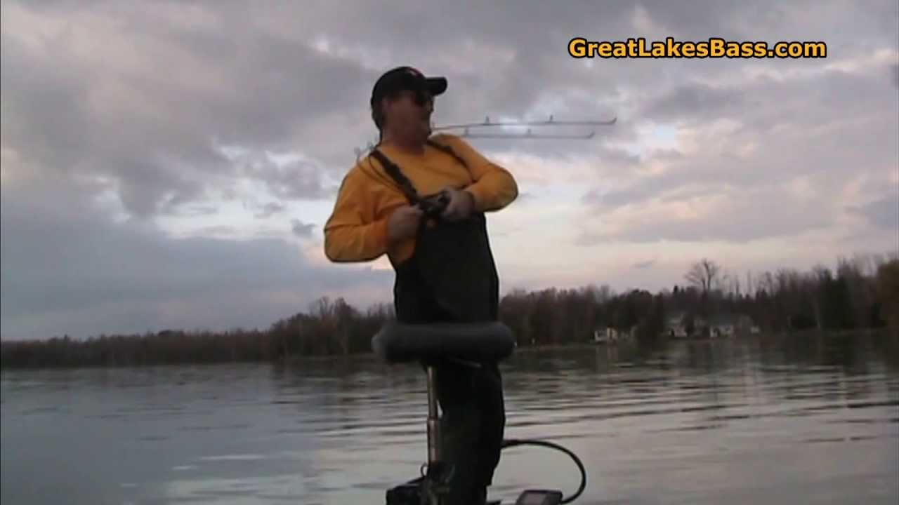Why i love fishing mullett lake for big fall smallmouth for Mullett lake fishing